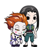 Illumi and Hisoka Chibi 2