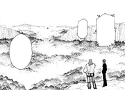 Chap 206 - Knov and Morel monitoring the Chimera Ant nest