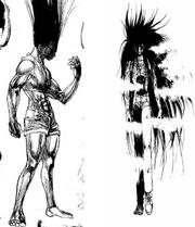 Similitud en la transformación de Gon y Yusuke