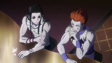 Illumi and Hisoka