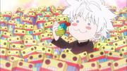 Killua ama los dulces