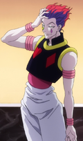 28 - Hisoka appears in the Heavens Arena