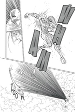 Chap 272 - Shoot using his flying hands to avoid Youpi's attack