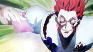 Hisoka creepy