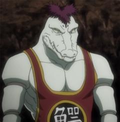 Alligator ant anime