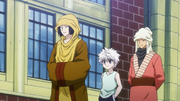 Kiriko Leading Killua