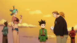 Todo with menchi and Gon