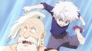 Killua vs netero