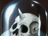 Unicorn Tribesman Skull