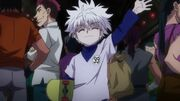 Killua asks for more juice