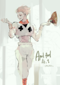 Hisoka by Sui Ishida - April Fools' Art