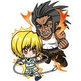 Kurapika vs Uvogin - LR Chibi