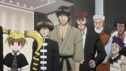 Biscuit, Linssen, Mizuken y Basho votando