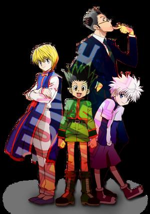 Pelakon Anime 2011 Hunter x Hunter