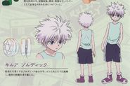Killua's G.I Design (2011 Anime)