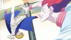 Hisoka vs Kurapika