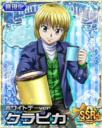 Kurapika - White Day Ver Card(plus)