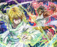 Kurapika vs Uvogin LR Kira Card