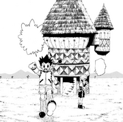 Chap 128 - Gon and Killua starting the game