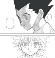 Chap 275 - Gon and Killua's relationship fracturing