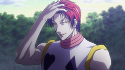 Hisoka With Hair Down
