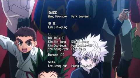 "Tema penutup 2 HUNTER X HUNTER (2011) ""Hunting For Your Dream"""