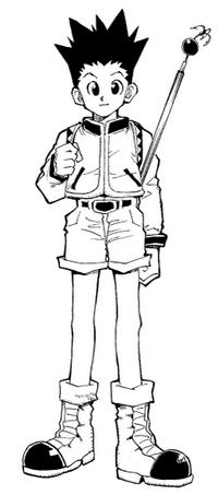 Gon manga