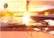 Psikofen plane explosion S2E49