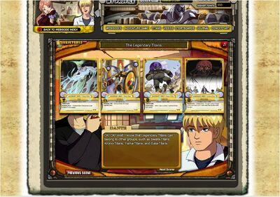 Huntik.com Webisode 14 legendary titans scene