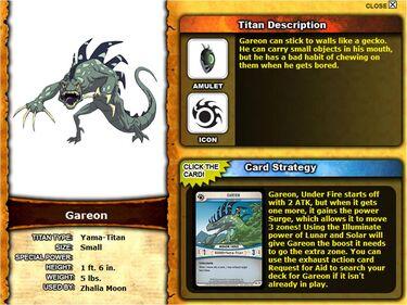 Huntik.com Profile - Gareon