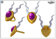 Demigorgan Amulet Stock Art