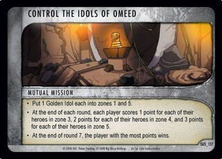 SAS 157 Control the Idols of Omeed