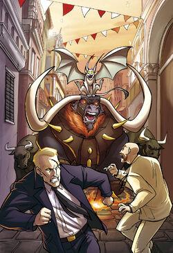 Comic 16 The Bulls of Pamplona cover