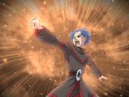 S2E36 Blue haired ophan summon Harlekin 2