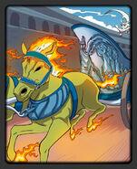 The Riderless Chariot