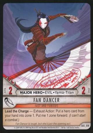 SAS 030 Fan Dancer