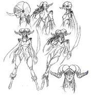 Sabriel (Concept Sketches)