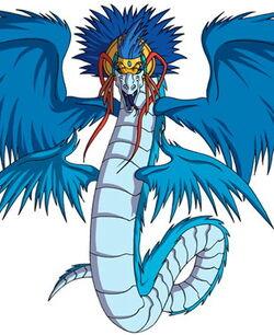 Quetzalcoatl perfil