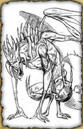 King Basilisk (Rough Sketch)