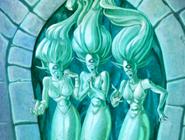 S2E35 Medusa gorgon sisters