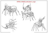 Spiral Demon Concept Art