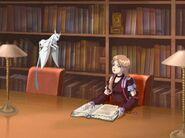 S1E18 Sophie Cherit library