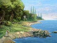S2E35 Medusas Island shore