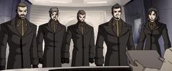 The Professor's Personal Guard