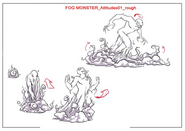 Fog Monster Concept Art