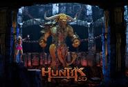 Huntik 5d Sophie Megataur poster