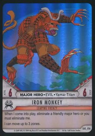 SAS 036 Iron Monkey