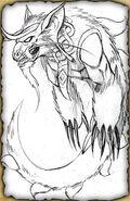 Lindorm (Pencil Sketch)