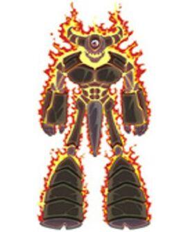 Golemfire titan