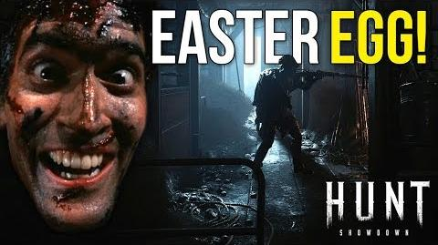 Evil Dead Easter Egg! ~ Hunt Showdown